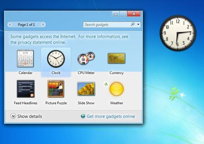 Microsoft heqë Gadgets nga Windows 8