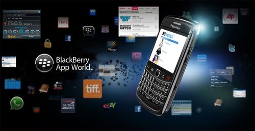 BlackBerry App World me 3 miliardë shkarkime