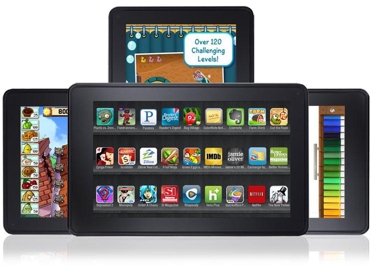 Dy Kindle Fire të rinj nga Amazon?