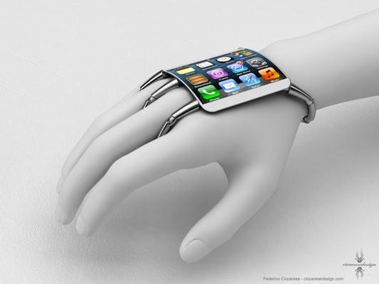 Koncepti iPhone 5 në formë byzylyku