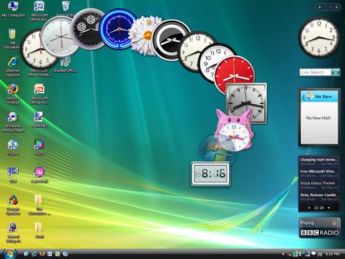 Microsoft u kërkon përdoruesve të Windows Vista dhe 7 që të ndalin gadgets