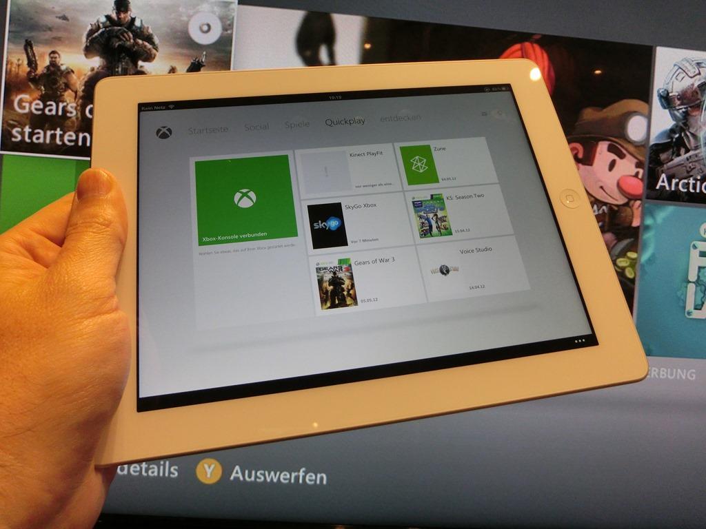 iPad me aplikacion për Xbox 360