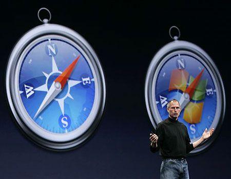 Apple braktisë Safarin për Windows