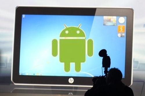 Android Jelly Bean shfaqet në tabletin e HP-së