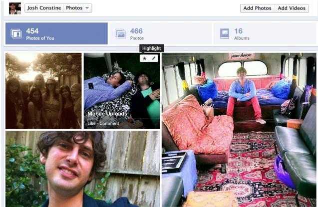 Azhurnimet e fundit për Facebook Timeline