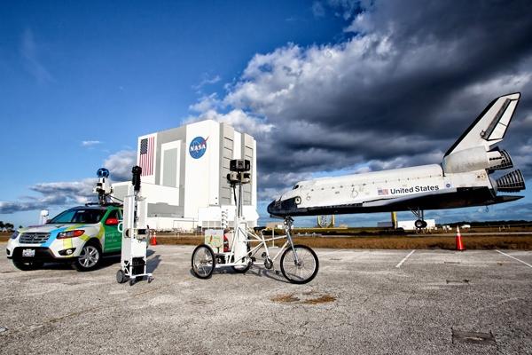 Google Street View ju çon brenda Qendrës së NASA-s