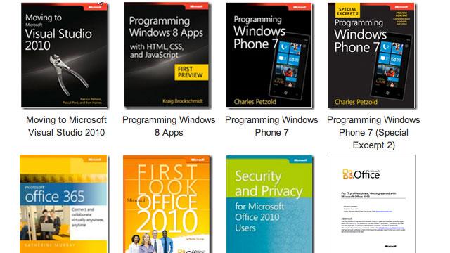 Merrni mbi 80 libra elektronik falas nga Microsoft
