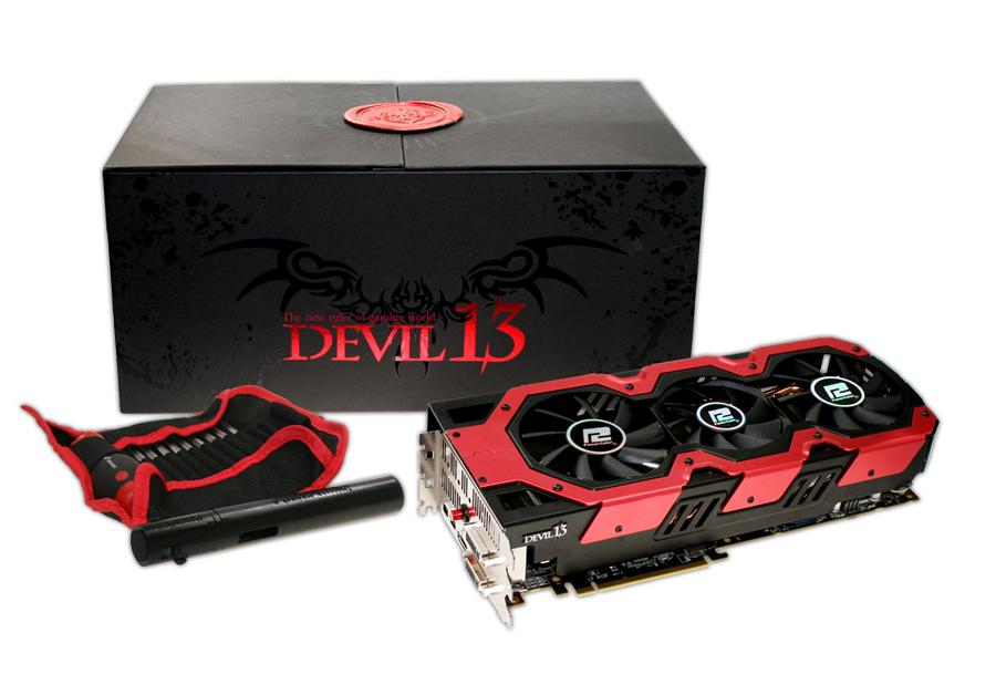 Powercolor nxjerr kartën grafike Devil 13 HD 7990 Dual GPU
