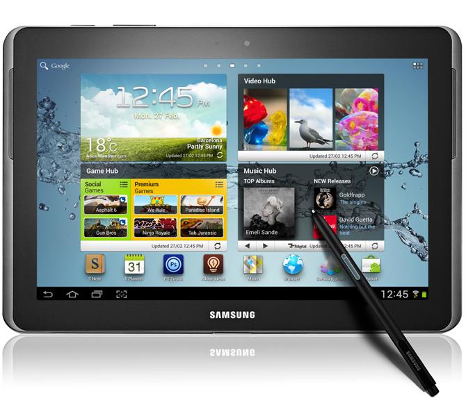 Samsung Galaxy Note 10.1 – tablet konkurrent i iPad-it?