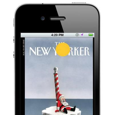 The New Yorker vjen falas në iPhone