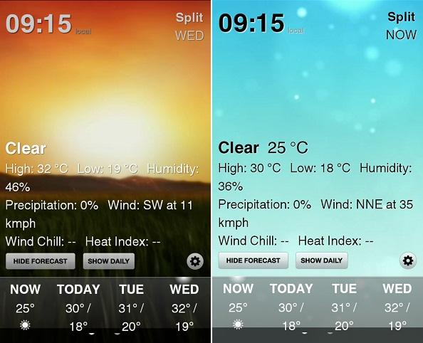 Weather HD edhe për Android