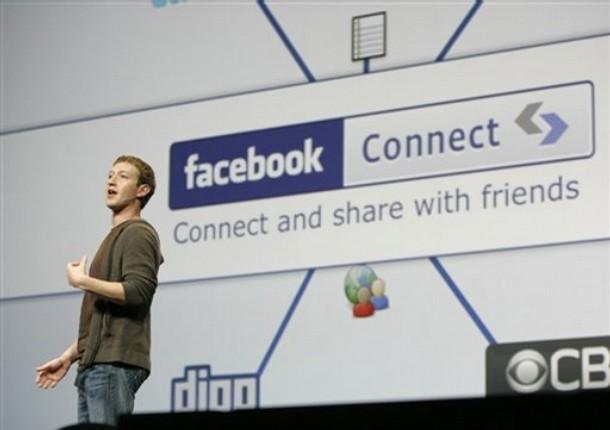 Facebook fiton emrin e domenit FacebookConnect.com