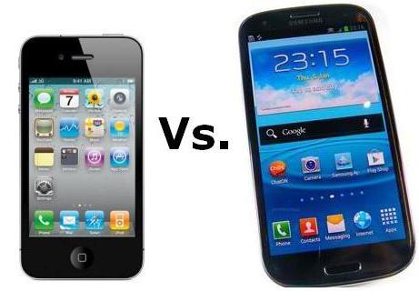 Samsung Galaxy S3 vs. Apple iPhone 4S, kush është më i fortë?
