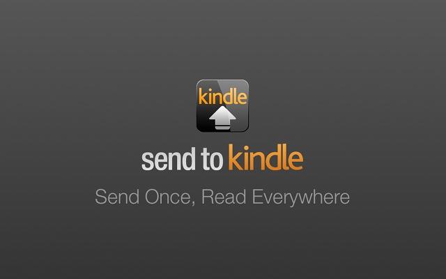 Dërgoni artikuj nga shfletuesi juaj ueb në Kindle