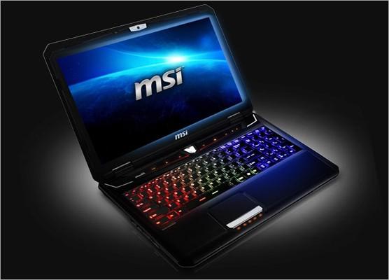 MSI azhornon laptopin për lojra GT70 0NE me GeForce GTX 680M