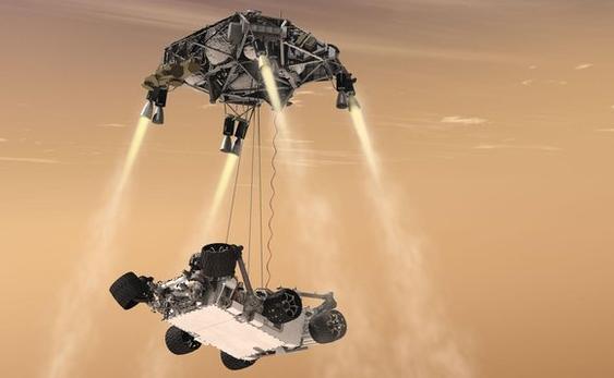 Nasa shfaq fotot dhe videon e parë të zbritjes në Mars