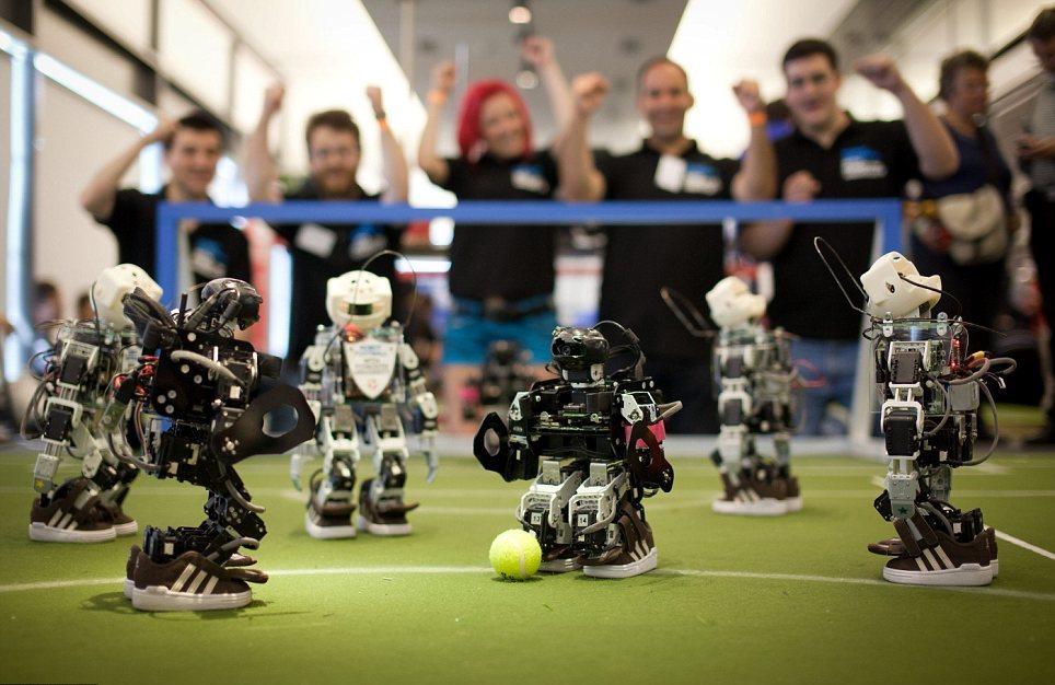 Robotët me lojërat e tyre Olimpike