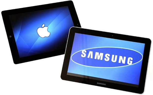 Dizajnet e pajisjeve Samsung të njëjta me ato të Apple