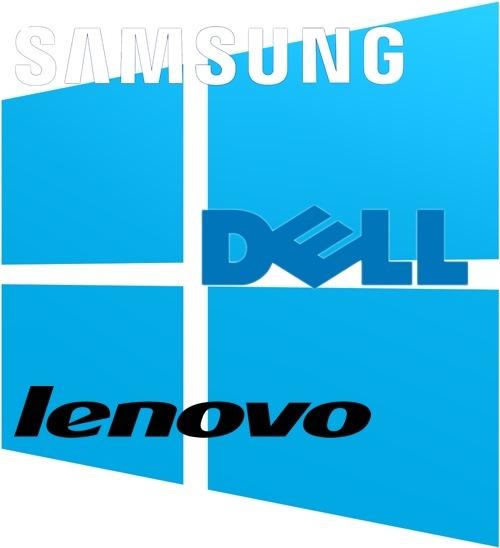 Dell, Samsung dhe Lenovo konfirmohen si partnerët harduerikë të Windows RT
