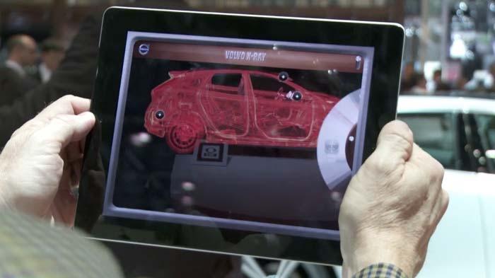 Volvo kthen iPad-in tuaj në skaner për veturën e tyre