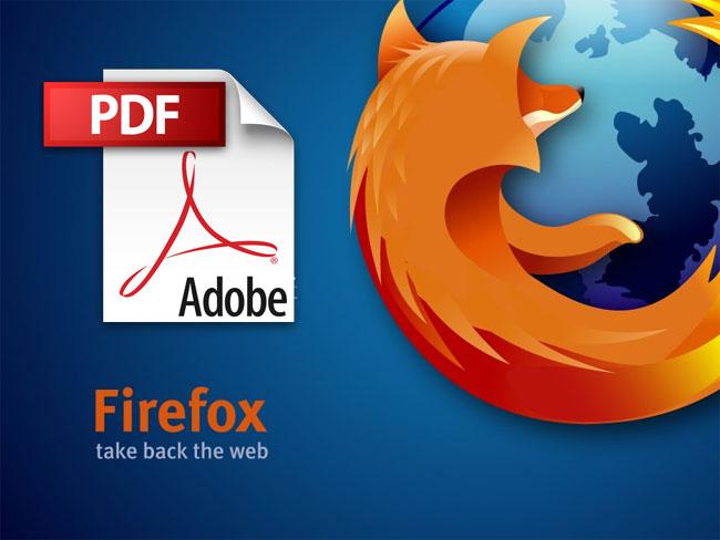 Firefox tani me lexues të vetin të PDF-ve