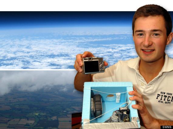 Adoleshenti nxjerr aparatin fotografik hapsinor, realizon foto të mahnitshme të Tokës