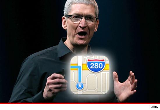 Tim Cook kërkon falje për Apple Maps