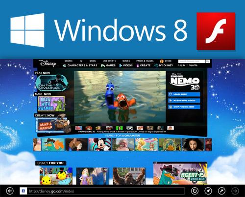 Microsoft të arnojë dobësinë, vrimën në Flash përpara lëshimit të Windows 8