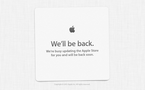 Apple Store ndalet përkohësisht
