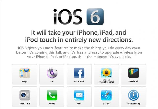 Ja se çfarë duhet të dini për iOS 6