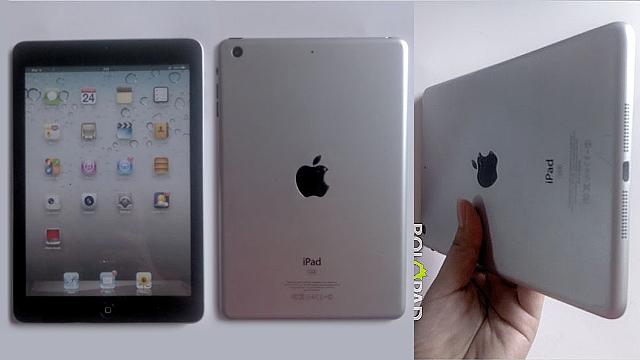 Zbulohen disa pamje të iPad Mini