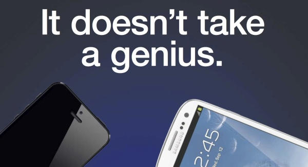 Reklama nga Samsung krahason Galaxy S III me iPhone 5