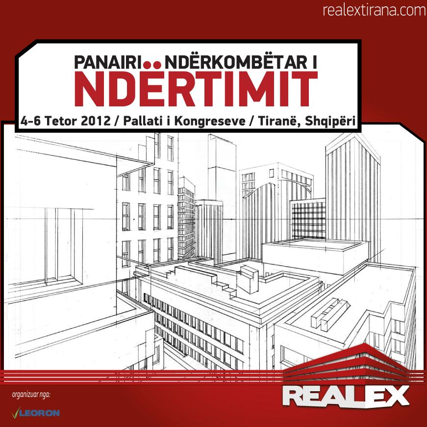 Panairi ndërkombëtar i ndërtimit RealEX Tirana 2012