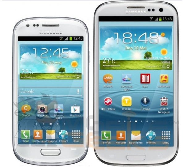 Specifikimet dhe fotot e smartfonit Samsung Galaxy S3 Mini