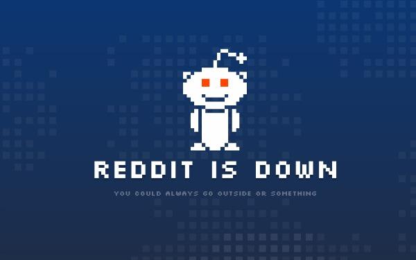 Uebfaqet Reddit, Imgur dhe Airbnb shfaqin probleme