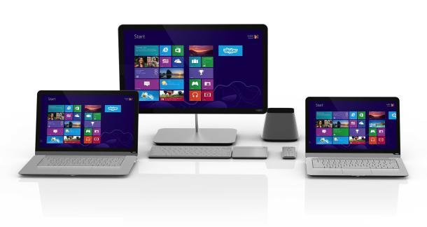 Vizio gati të shfaqë PC me Windows 8 falas