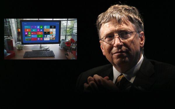 Bill Gates flet mbi Windows 8