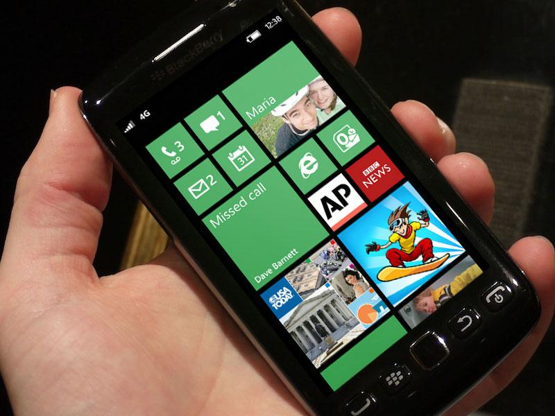 Windows Phone po i bën konkurrencë kompanisë RIM