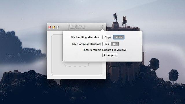 Factura organizon arkivën tuaj të gjatë në Mac