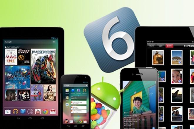 Krahasimet mes sistemeve operative iOS 6 dhe Jelly Bean