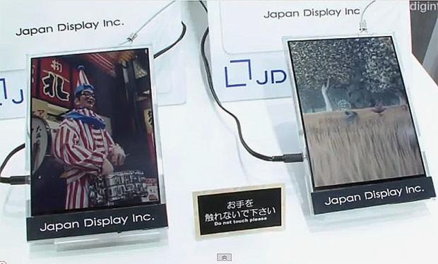 Japan Display zhvillon ekranin LCD në formë letre i cili shfaq video
