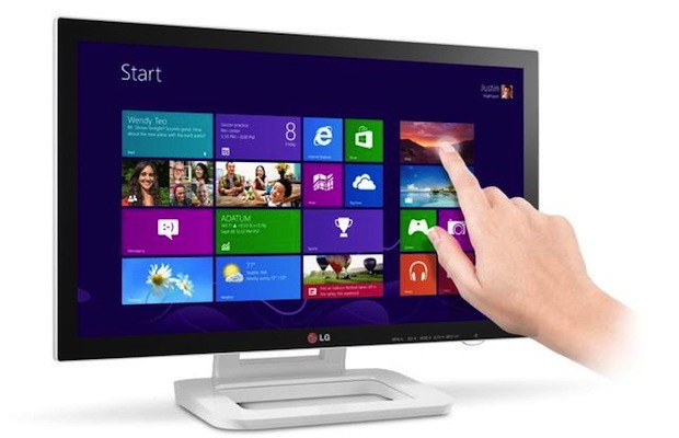 LG prezanton monitorin me prekje 23 inç me optimizim për Windows 8