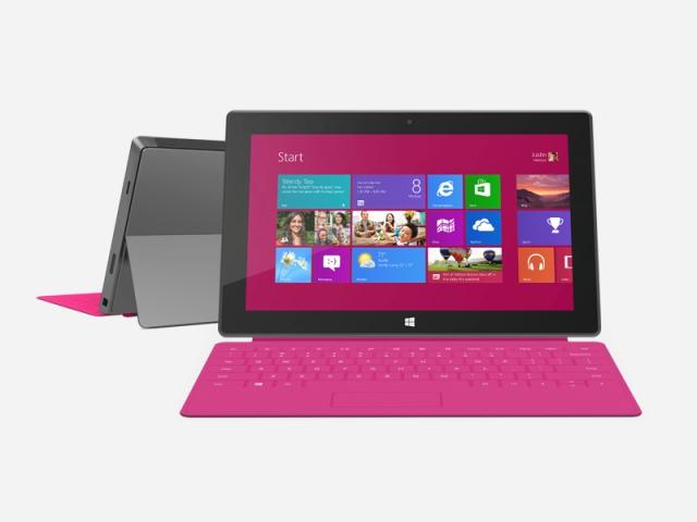 Microsoft zbulon tabletin Surface me Windows 8 Pro