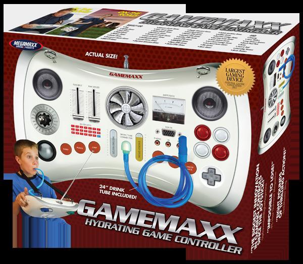 Kontrolluesi GameMaxx Hydrating është shumë qesharak