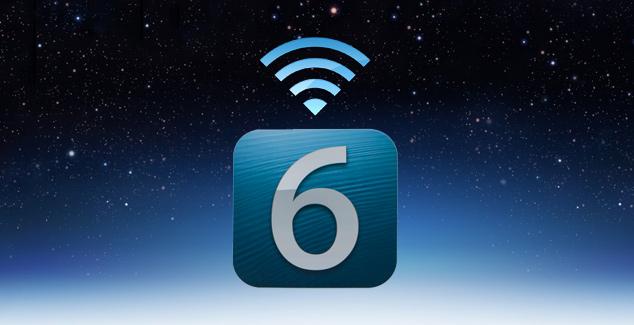 Apple sjell mundësi përditësimi në iOS 6.0.1 me anë të Wi-Fi