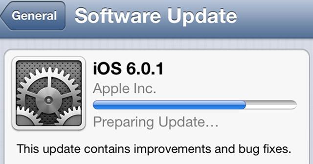 Sistemi operativ iOS 6.0.1 është gati për shkarkim