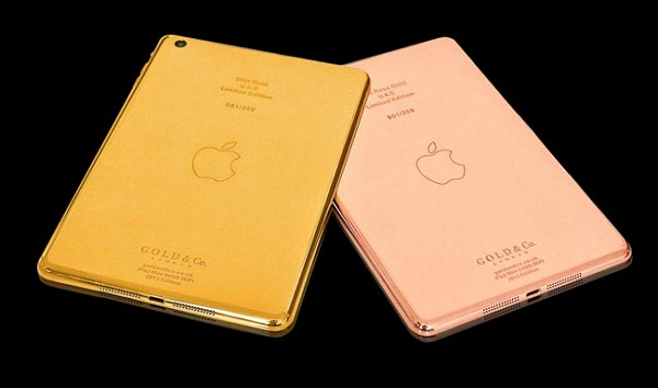 Prodhohet iPad Mini i parë prej ari