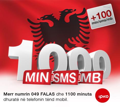 Ipko me ofertë të re me rastin e 100 vjetorit të Pavarësisë së Shqipërisë