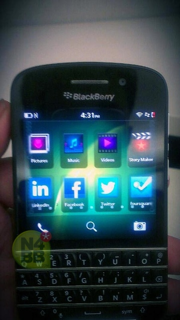 BlackBerry X102