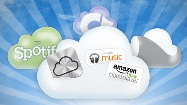 Shërbimet cloud për ruajtjen e muzikës